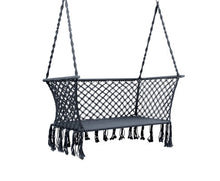 Load image into Gallery viewer, Sandy Indoor/Outdoor Double Hammock Swing Chair (Grey) [EST. RESTOCK 13/11/20]