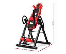 Load image into Gallery viewer, FLF Inversion Table (Red/Black)