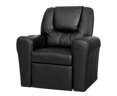 Simpson Children's Recliner Armchair in PU Leather [EST. RESTOCK 10/11/20]