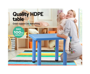 Beau Kids Table / Desk (Blue)