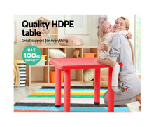 Load image into Gallery viewer, Beau Kids Table / Desk (Red)
