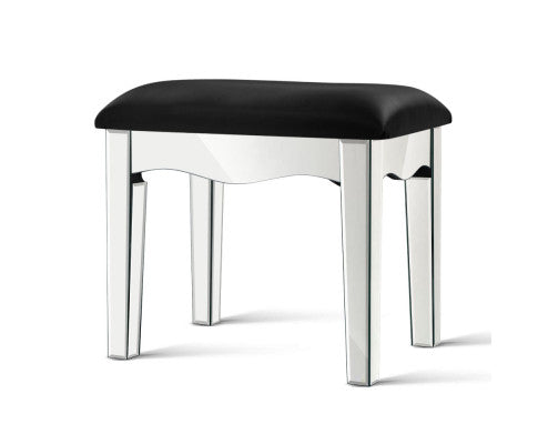 Suzi Mirror Finished Dressing / Vanity Table Feature Stool [EST. RESTOCK 30/11/20]