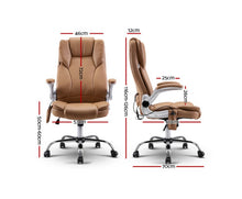 Load image into Gallery viewer, Tonia 8 Point Massage Recliner Chair (Espresso) [EST. RESTOCK 13/11/20]