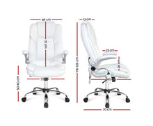 Load image into Gallery viewer, Tonia 8 Point Massage Recliner Chair (White)