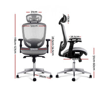 Load image into Gallery viewer, Tropo Office Chair Mesh Net (Grey) [EST. RESTOCK 18/11/20]