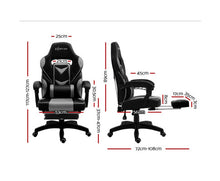 Load image into Gallery viewer, Luke Artiss Office / Gaming Chair (Grey)