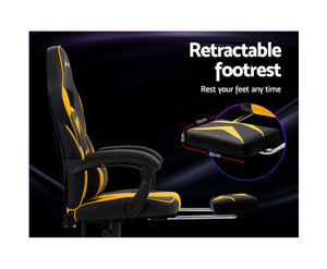 Luke Artiss Office / Gaming Chair (Yellow)