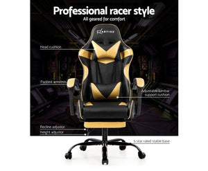 McAbs Office / Gaming Chair (Golden)