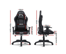 Load image into Gallery viewer, McAbs RGB MULTI NEON LED Office / Gaming Chair (Black) [EST. RESTOCK 03/01/21]