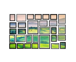 Andy 30 PCS Wall Collage Picture / Photo Frame Set (Black)