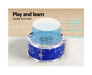 Collyns - Child's 11 Piece Drum Set (Blue)