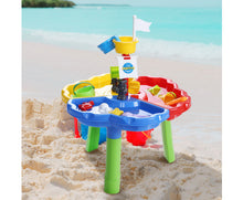 Load image into Gallery viewer, Molly Kids Multi-coloured  Beach Sand & Water Sandpit + Childrens Bath Toys