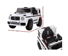 Load image into Gallery viewer, Kris Kids Replica Mercedes-Benz Ride On Car - White