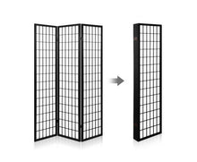 Load image into Gallery viewer, Sunso Privacy Screen / Room Divider - 6 x Panel (Black & White)