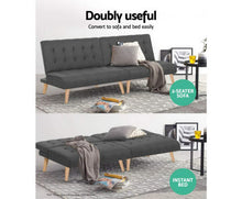 Load image into Gallery viewer, Swansea Sofa Single Bed Set