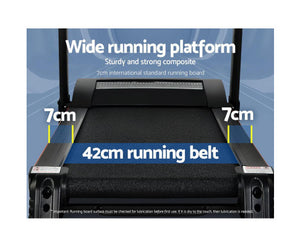 Nic Electric Treadmill 420mm 18km/h