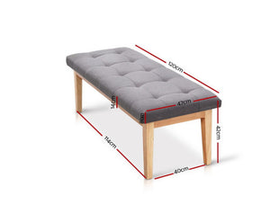 Swansea Bedroom Bench Ottoman / Foot Stool 120cm [EST. RESTOCK 30/11/20]