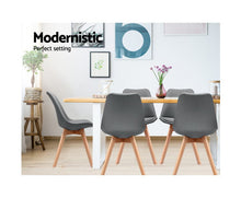 Load image into Gallery viewer, Freda Fabric Dining Chairs x 2