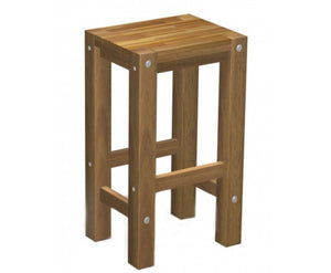 Natalie Sturdy Stool Natural Finish x 1