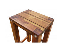 Load image into Gallery viewer, Natalie Sturdy Stool Natural Finish x 1