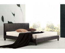 Load image into Gallery viewer, Galaxy King PU Leather Bed Frame (Black) {No Mattress} $PECIAL