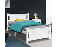 Load image into Gallery viewer, Cleo Single Bed Frame (White) {No Mattress} $PECIAL