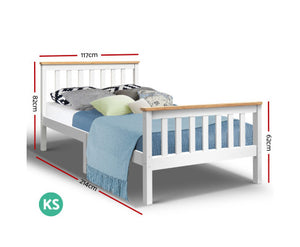 Jupiter King Single Bed Frame {No Mattress}