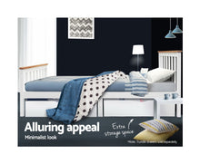 Load image into Gallery viewer, Jupiter King Single Bed Frame {No Mattress}