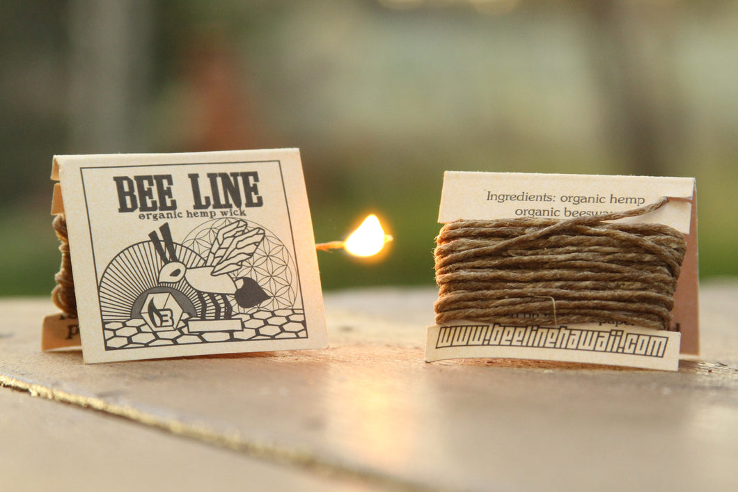 BEE LINE ORGANIC HEMP WICK 9ft. Original