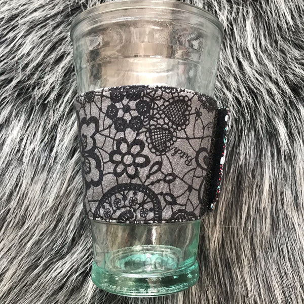 Naughty Lace Coffee Sleeve - Ready To Ship
