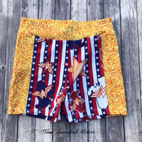 Ready To Ship - Size Kids 7 - Wonder Shorts