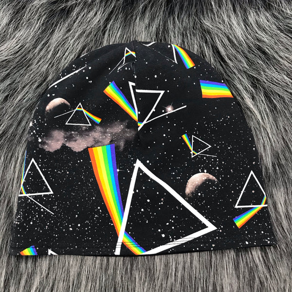 Dark Side Reversible Slouchy Beanie - Made To Order