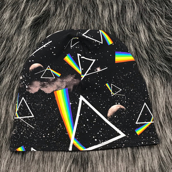Dark Side Reversible Slouchy Beanie - Adult (L) - Ready To Ship