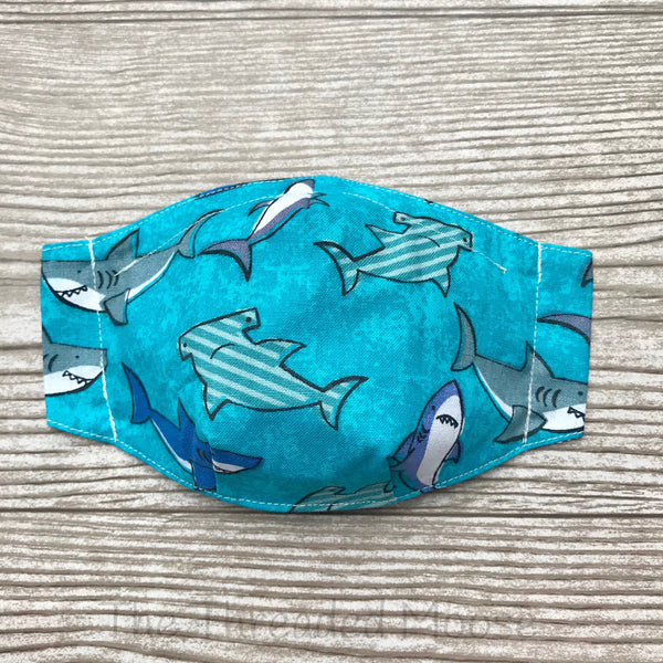 Shark Mask - Child - Batwing - Ready To Ship