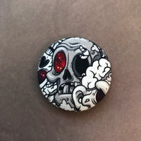 "Galaxy Zombie Magnet - 1.5"" - Ready To Ship"