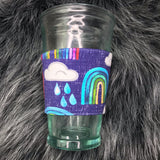 Rainbow Coffee Sleeve - Ready To Ship