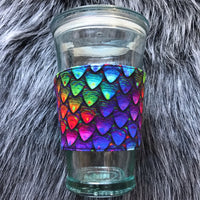 Dragon Scales Coffee Sleeve - Ready To Ship