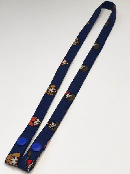Mask Lanyard - HP - One Size - Ready To Ship