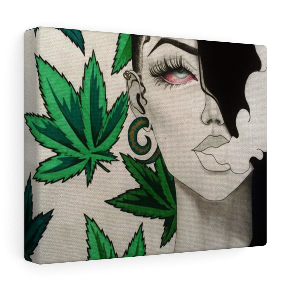 Stoner Wall Canvas