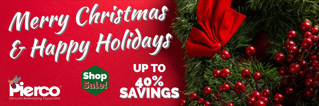 Merry Christmas & Happy Holidays Sale Save up to 40%