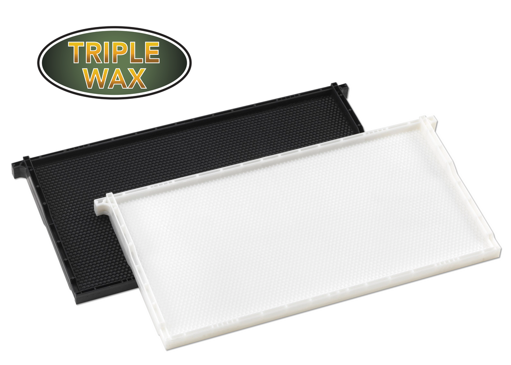 "9"" Deep Plastic Frame Triple Waxed - 52 pack"