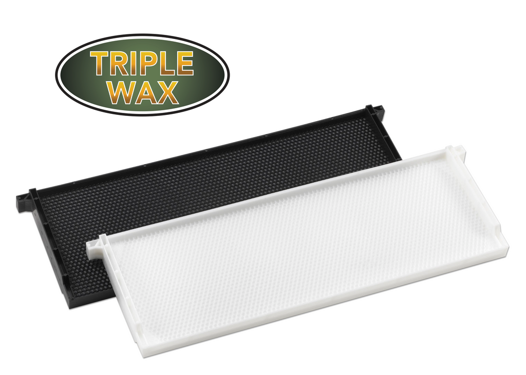 "6"" Medium Plastic Frame Triple Waxed - 72 pack ($1.98 ea.)"