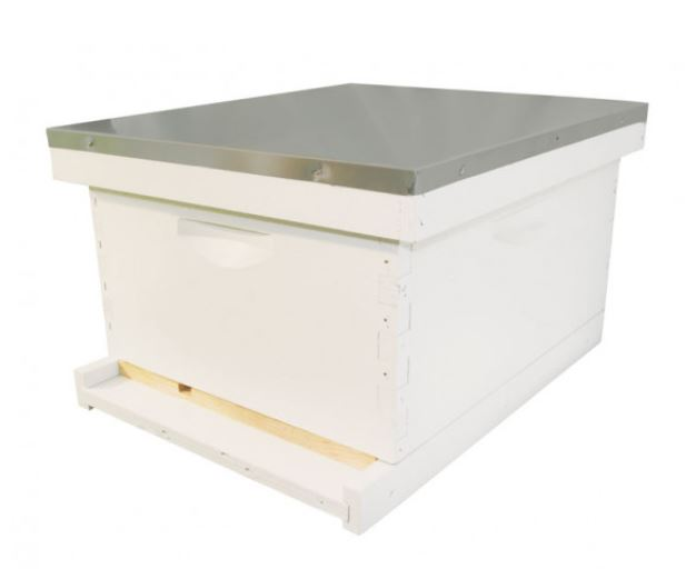 10 Frame Bee Hive Starter Kit | Assembled, Painted