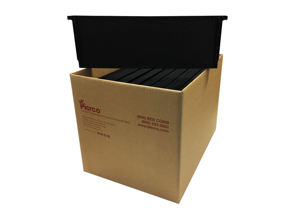"6"" Medium Plastic Frame Waxed - 30 pack ($1.95 ea.)"
