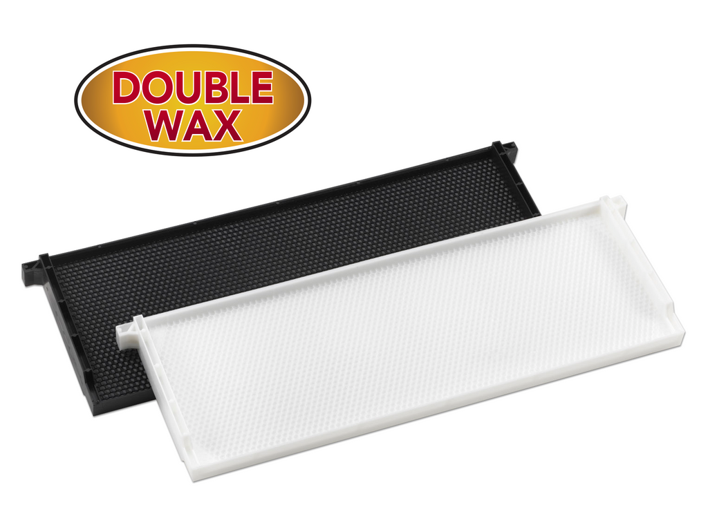 "6"" Medium Plastic Frame Double Waxed - 30 pack ($2.22 ea.)"