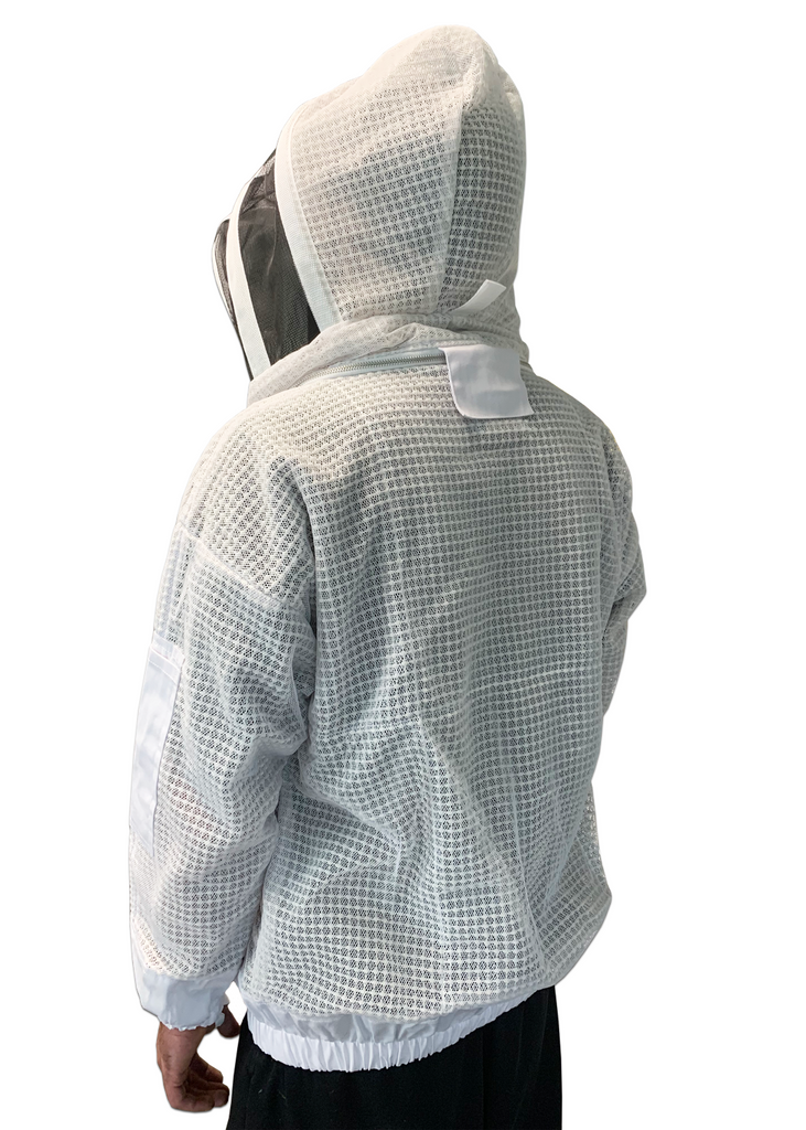 Triple Layer Protective Ventilated Bee Jacket with Veil - AirFlow Series