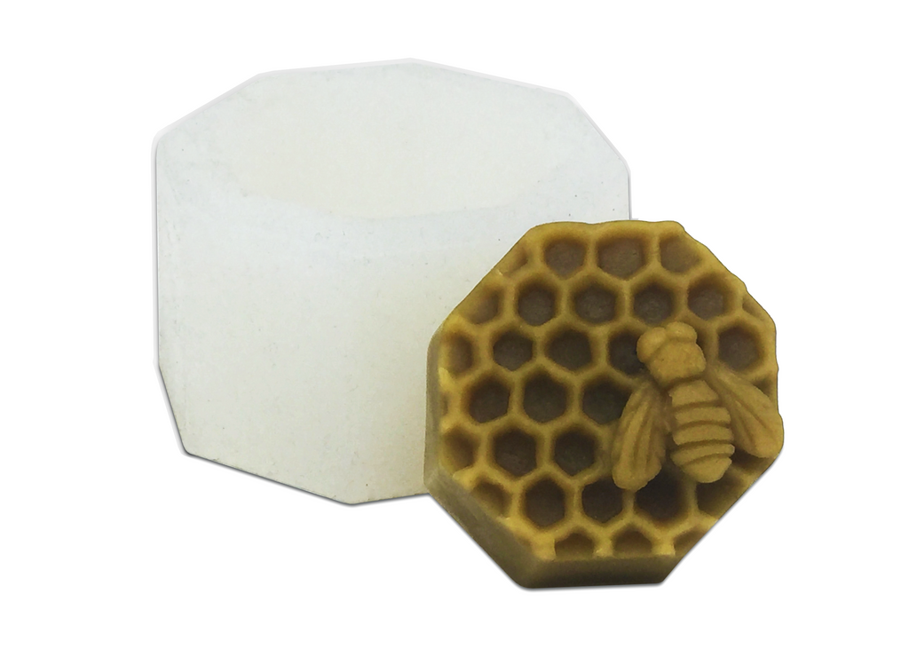 Honeycomb & Bee | Silicone Mold