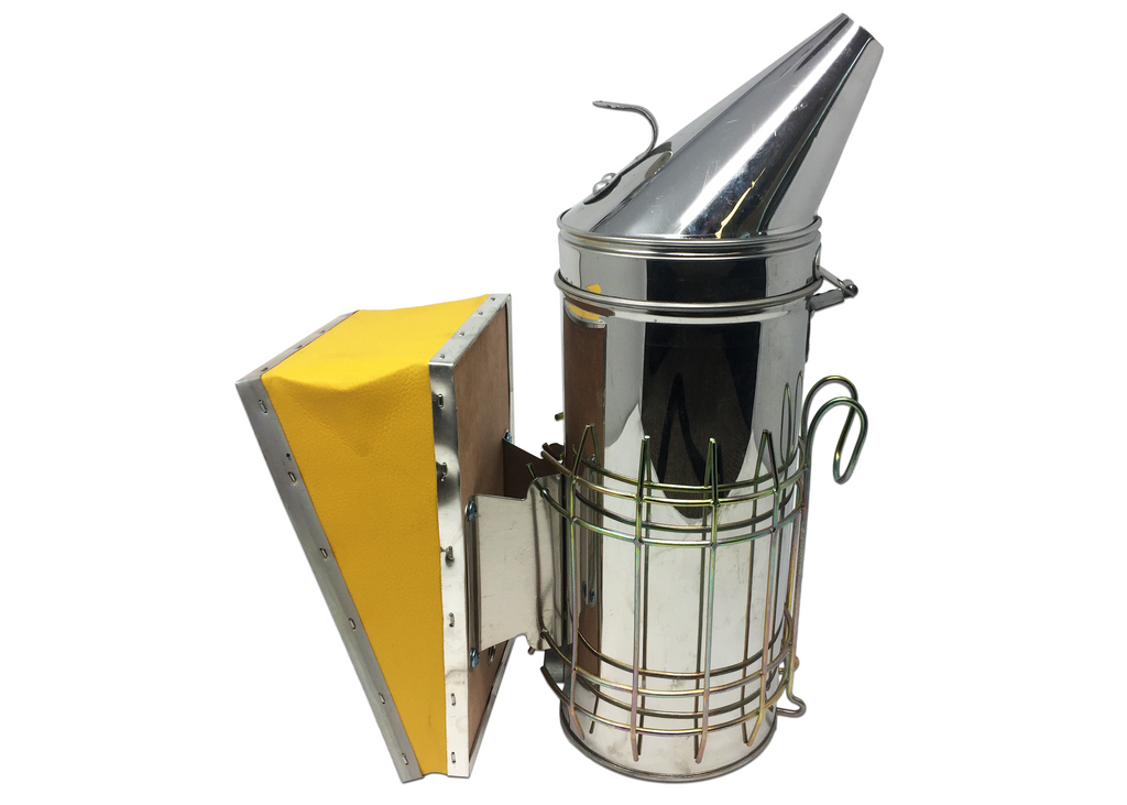 "12"" Heavy Duty Bee Smoker w/ Guard"