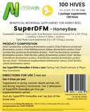 SuperDFM Honey Bee | 100 Hive Pack ($.95/treatment)