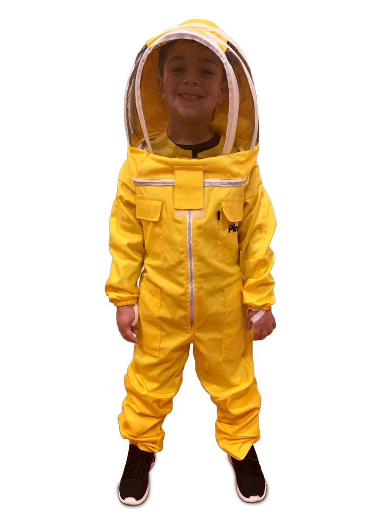 Small Childs Bee Suit Full Body Protective Wear